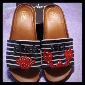 Cole Haan Shoes - Cole Haan Pinch Me Slide